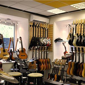 Музыкальные магазины Кургана